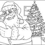 NATAL 150x150 Desenhos dos Símbolos do Natal para Colorir