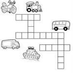 Atividades sobre meios de Transporte