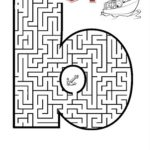 Alfabeto em labirintos para imprimir