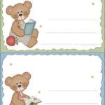 Etiquetas de ursinhos fofos para imprimir