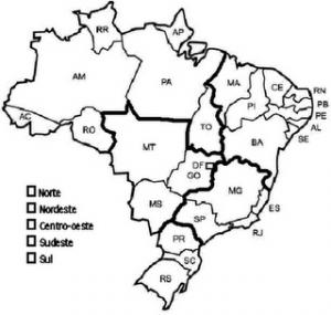 mapa político do brasil para colorir atividades pedagógicas