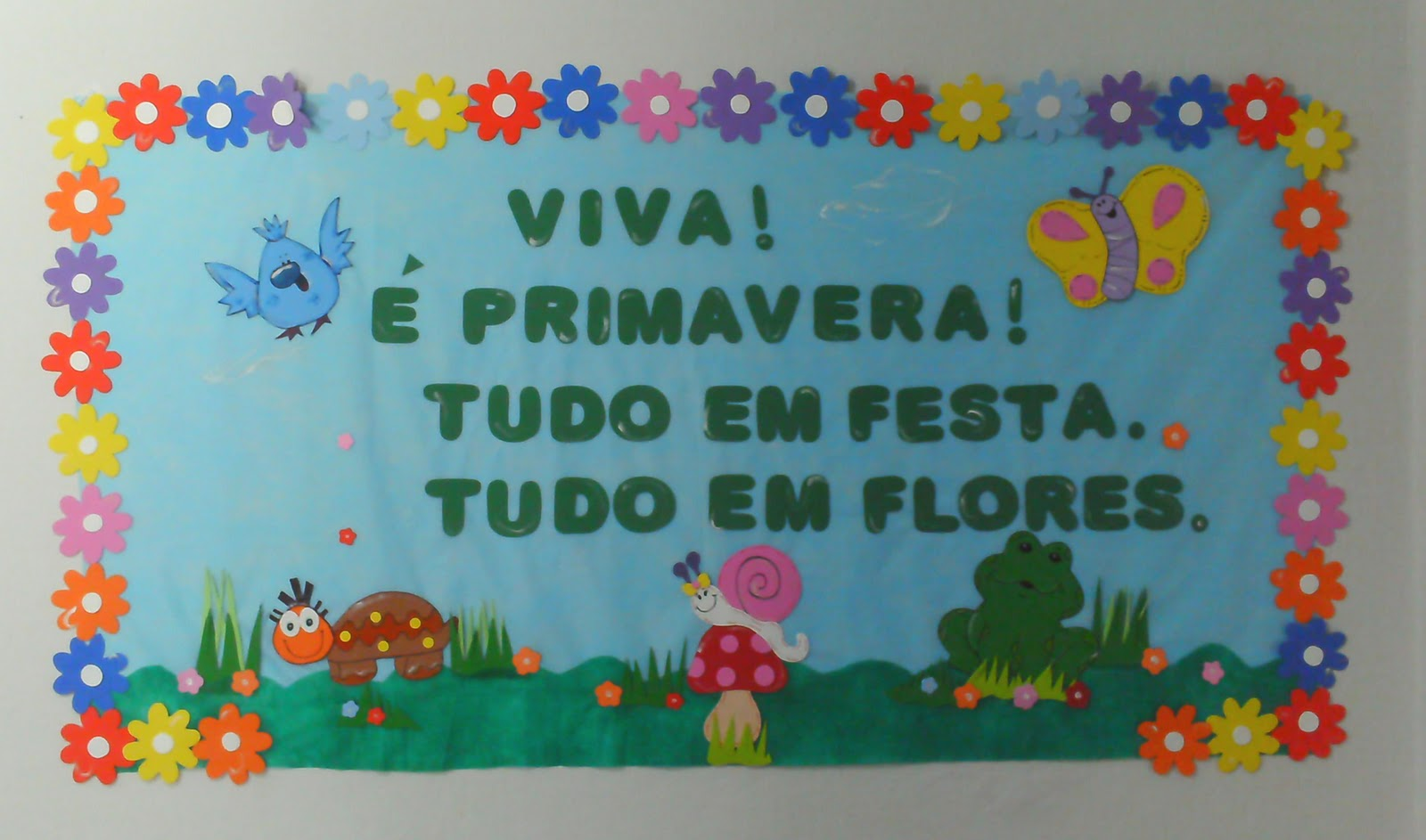 Mural Primavera Bercario