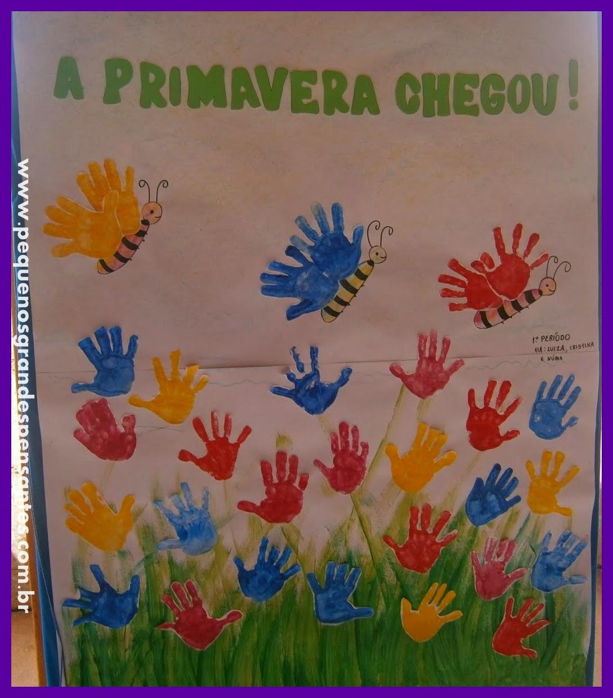mural de primavera para educa o infantil