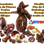 Curso Chocolates – Aprenda fazer Ovos de Páscoa, Trufas, Bombons e muito mais
