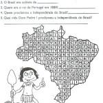 ATIVIDADES SOBRE A HISTÓRIA DO BRASIL