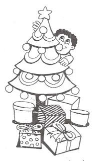 Arvores De Natal Para Colorir Atividades Pedagogicas
