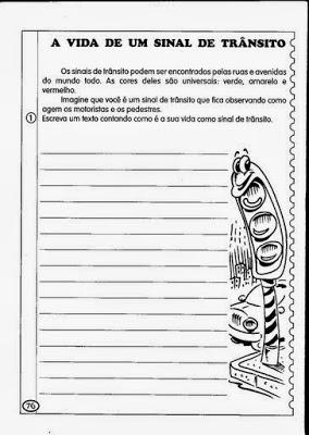 Exercicios Sobre Producao De Texto Para Imprimir Atividades
