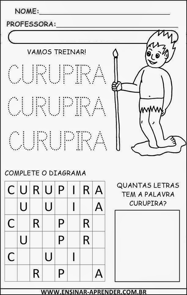 ATIVIDADE CURUPIRA ENSINAR APRENDER 4
