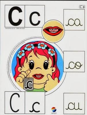Alfabeto colorido c