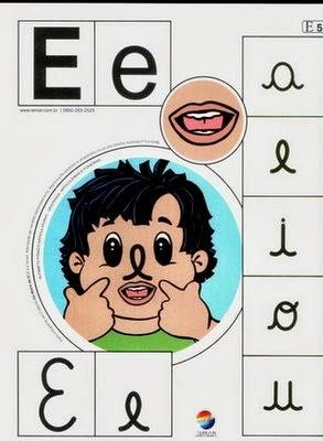 Alfabeto colorido e