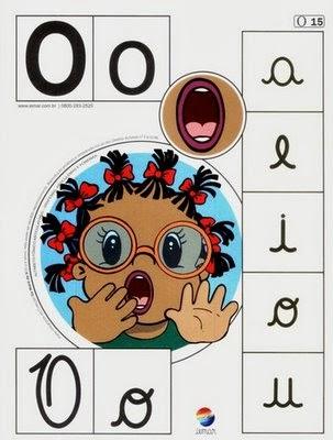 Alfabeto colorido o