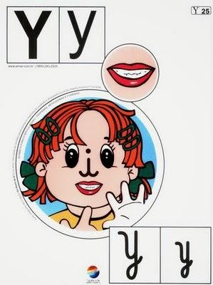 Alfabeto colorido y