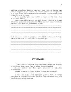 Atividades Educaçao Ensino Religioso 3° 4° 5° anos Fundamental (2)