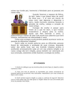 Atividades Educaçao Ensino Religioso 3° 4° 5° anos Fundamental (6)