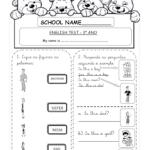 Atividades de Inglês do 1º ao 6º ano do ensino fundamental