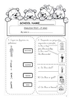 Atividades de Inglês 1° 2° 3° 4° 5° 6° ano exercícios (imagens) para imprimir (255)