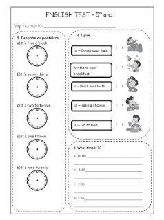 Atividades de Inglês 1° 2° 3° 4° 5° 6° ano exercícios (imagens) para imprimir (261)