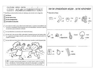 Consciência Negra Atividades Exercícios Desenhos Colorir Pintar Imprimir História (39)