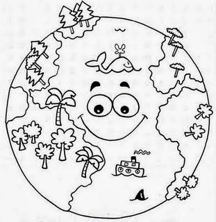 Desenhos para colorir sobre poluição