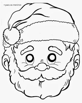 Máscara de Papai Noel