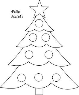 Natal arvores e enfeites187 Árvores de Natal para colorir