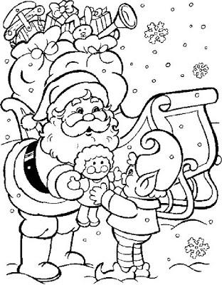 Desenhos De Papai Noel Para Colorir Atividades Pedagogicas