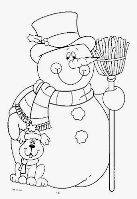 Desenhos de símbolos natalinos para colorir