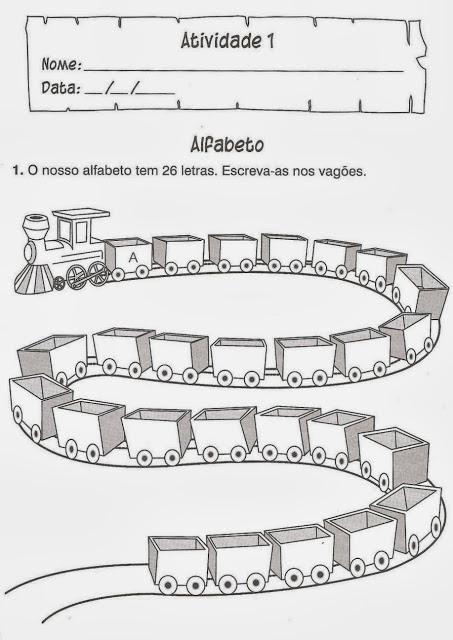 alfabeto portugues
