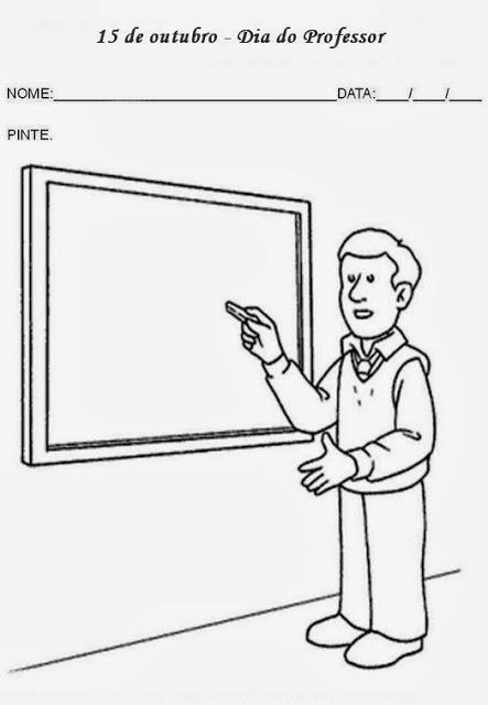 atividades dia do professor pinte