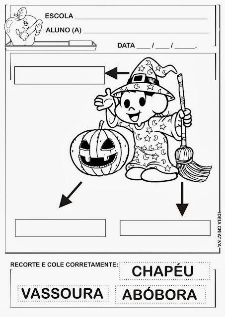 atividades halloween ensino fundamental 3