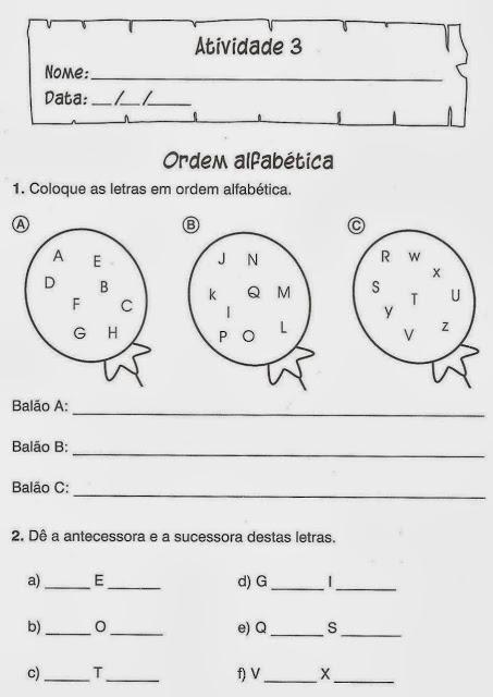 atividades portugues silabras