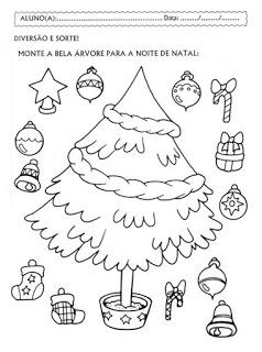 Atividades De Natal Para Educacao Infantil Atividades Pedagogicas