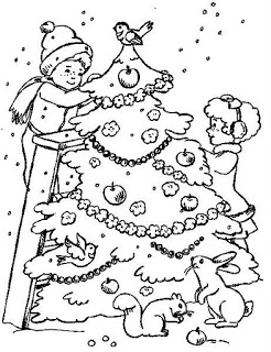 christmas games christmas tree coloring kids make handmade 379568188 large 10 gif1 Árvores de Natal para colorir