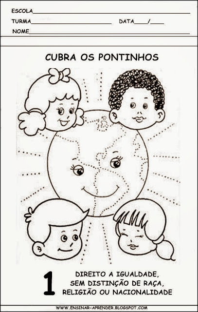 Atividade dia das crianças 2° ano