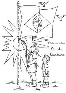 dia da bandeira atividades e desenhos colorir25