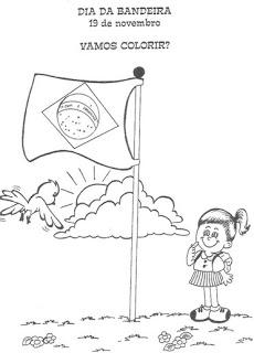 dia da bandeira atividades e desenhos colorir36
