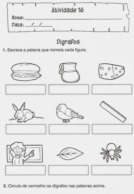 digrafos portugues