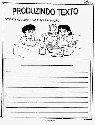 exercicios portugues criar uma historia