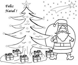 natal atividades desenhos noel neve present rena189