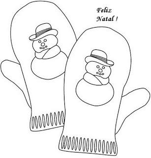 natal atividades desenhos noel neve present rena191