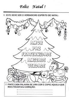 natal atividades desenhos noel neve present rena192