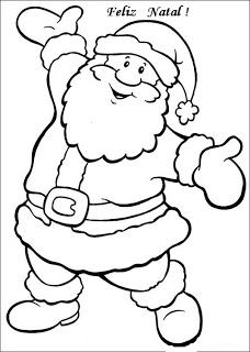 natal atividades desenhos noel neve present rena193