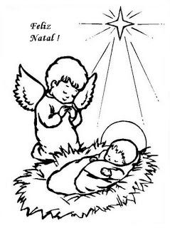 natal atividades desenhos noel neve present rena197