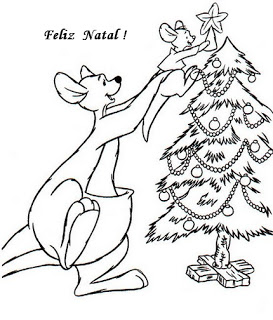 natal atividades desenhos noel neve present rena217