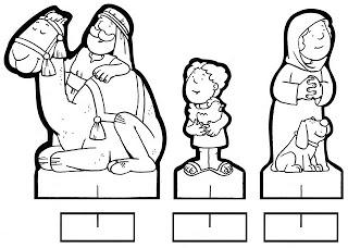 personagens de presépio para montar recortar natal atividade (10)