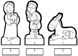 personagens de presépio para montar recortar natal atividade (15)