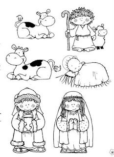 personagens de presépio para montar recortar natal atividade (33)