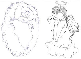 personagens de presépio para montar recortar natal atividade (35)