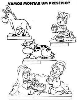 personagens de presépio para montar recortar natal atividade (43)
