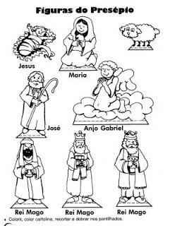 personagens de presépio para montar recortar natal atividade (57)